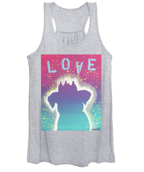 For The Love Of Pups Women's Tank Top