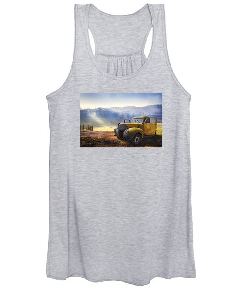 Ford In The Fog Women's Tank Top