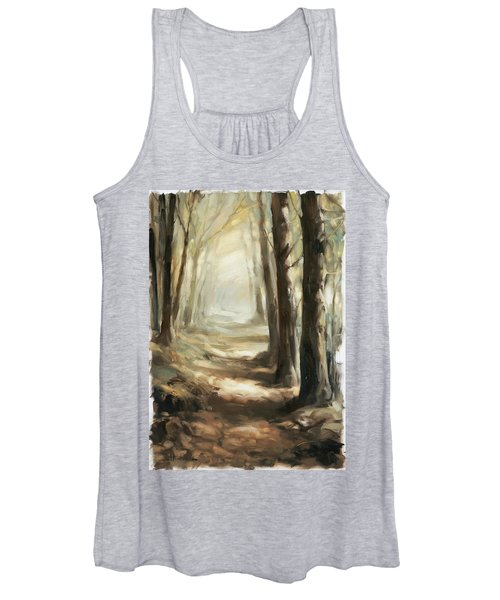 Forest Path Women's Tank Top
