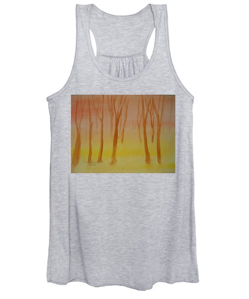 Forest Study Women's Tank Top