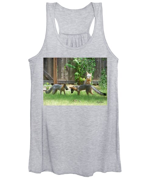 Fox Family Women's Tank Top