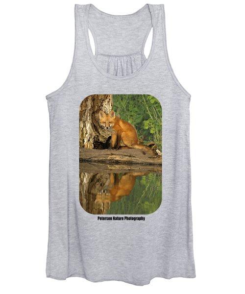 Fox Reflection Shirt Women's Tank Top