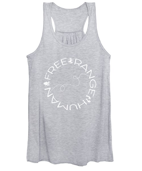 Free Range Human Circle Women's Tank Top