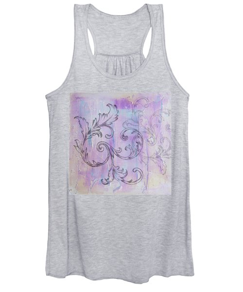 French Country Scroll Women's Tank Top