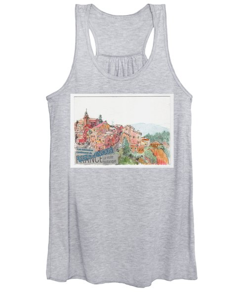 French Hill Top Village Women's Tank Top