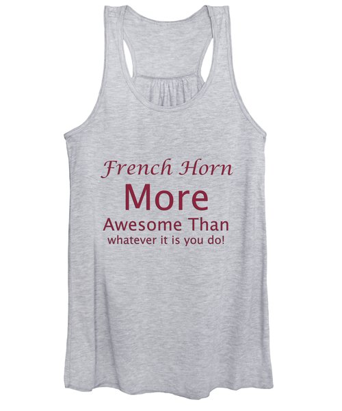 French Horns More Awesome Than You 5560.02 Women's Tank Top