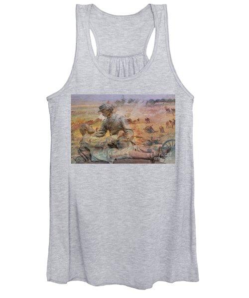 Friend To Friend Monument Gettysburg Battlefield Women's Tank Top