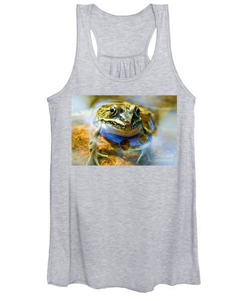 Frog In Pond Women's Tank Top