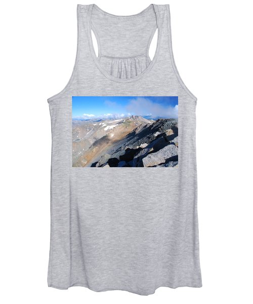 From Atop Mount Massive Women's Tank Top