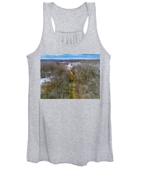 From Woods To Snow Women's Tank Top