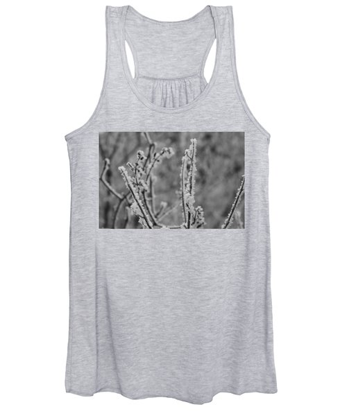 Women's Tank Top featuring the photograph Frost 1 by Antonio Romero