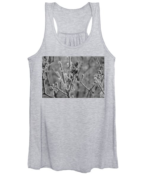 Women's Tank Top featuring the photograph Frost 5 by Antonio Romero