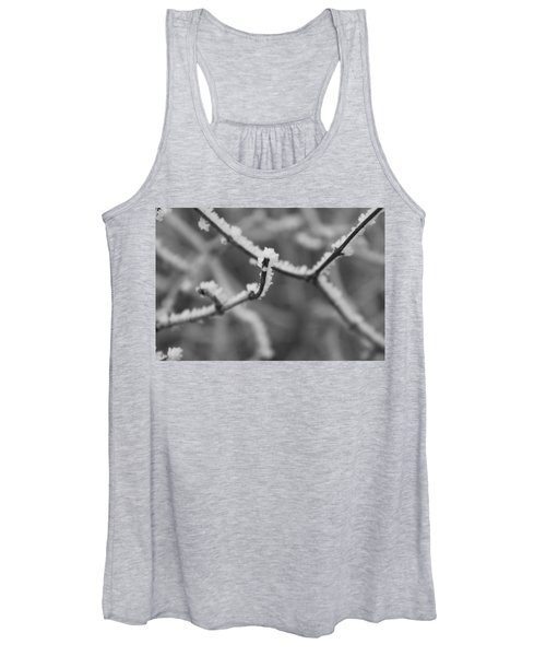 Women's Tank Top featuring the photograph Frost 6 by Antonio Romero