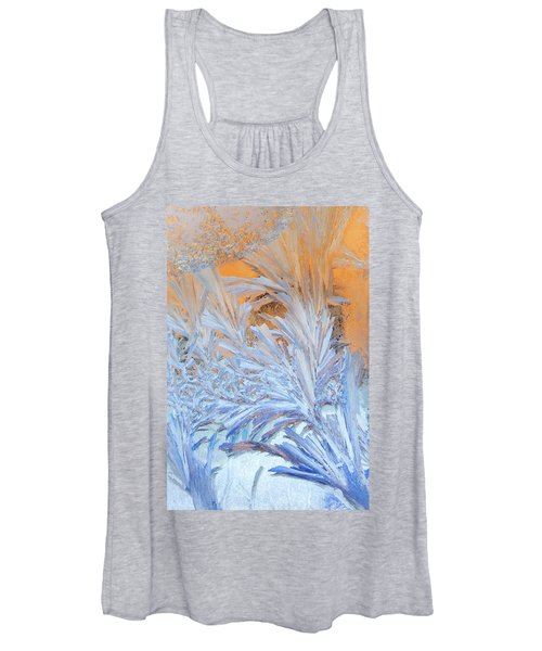 Frost Patterns On Window Women's Tank Top