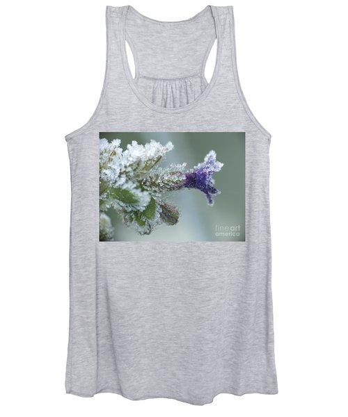 Frosty Flower Women's Tank Top