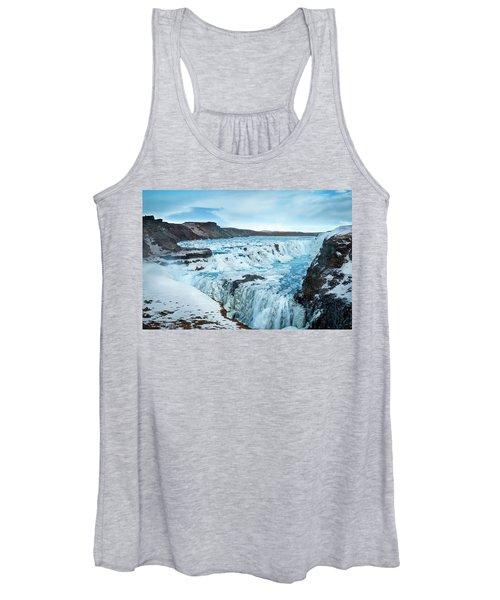 Frozen Gullfoss Women's Tank Top