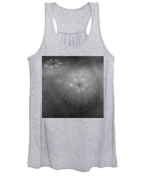 Frozen Ice Star Burst Women's Tank Top