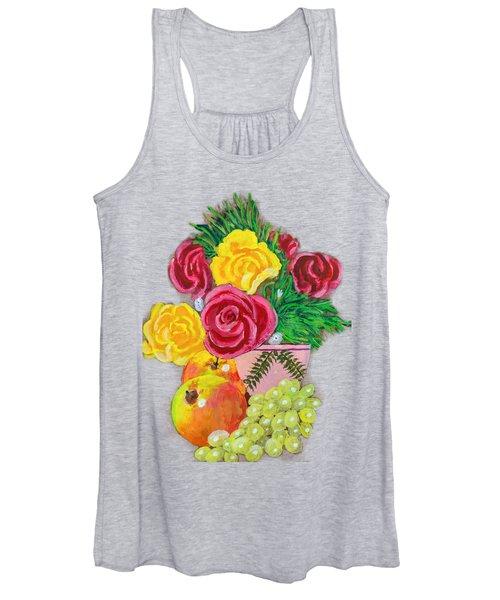 Fruit Petals Women's Tank Top