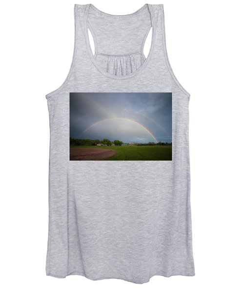 Full Double Rainbow Women's Tank Top