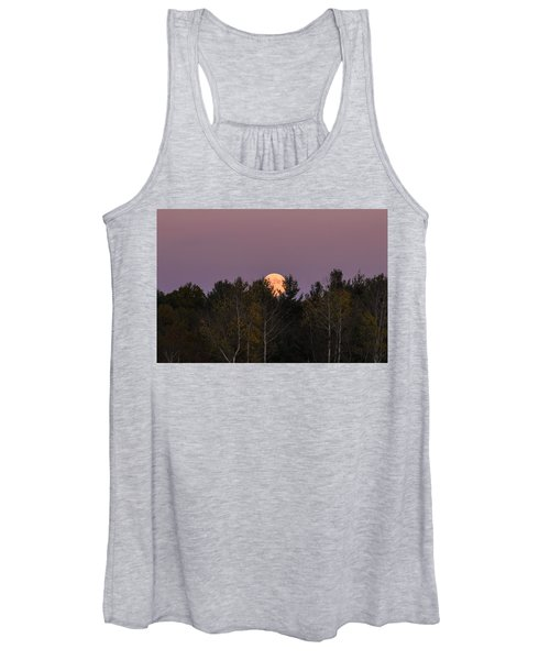 Full Moon Over Orchard Women's Tank Top