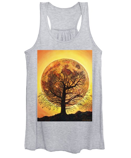Full Moonrise. Women's Tank Top