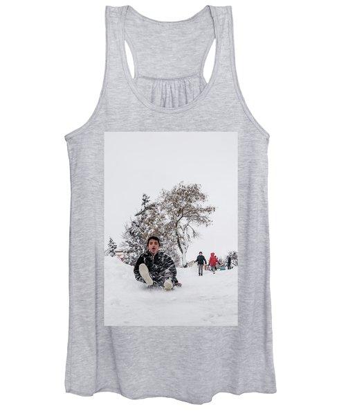 Fun On Snow-2 Women's Tank Top