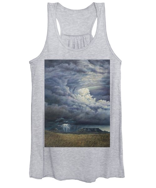 Fury Over Square Butte Women's Tank Top