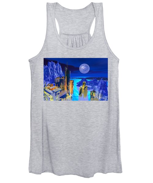 Futuristic City Women's Tank Top