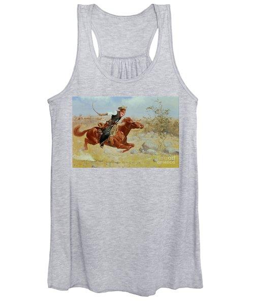 Galloping Horseman Women's Tank Top