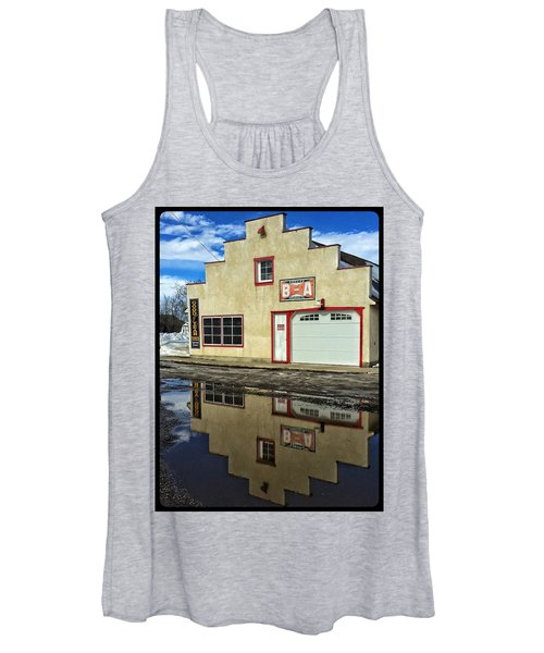 Garage Reflection Women's Tank Top