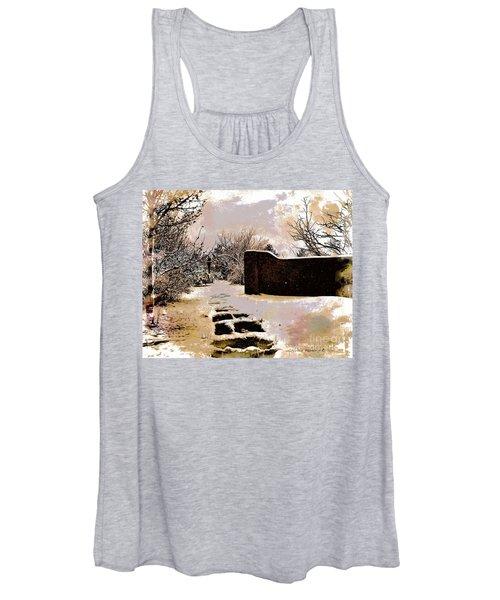 Garden Art Print  Women's Tank Top