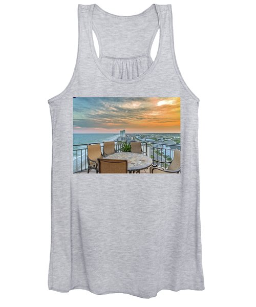 Garden City Beach View Women's Tank Top