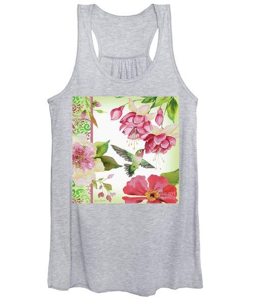 Garden Party-a Women's Tank Top