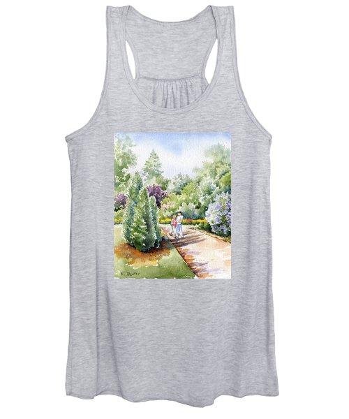 Garden Walk Women's Tank Top