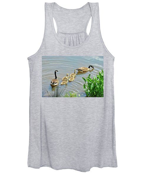 Geese And Goslings Women's Tank Top