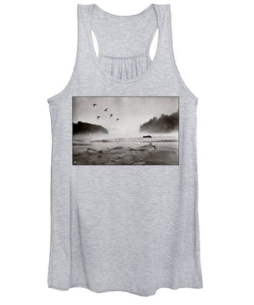 Geese Over Great Bay Women's Tank Top