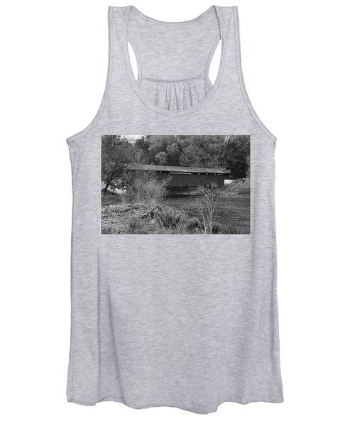 Geiger Covered Bridge B/w Women's Tank Top