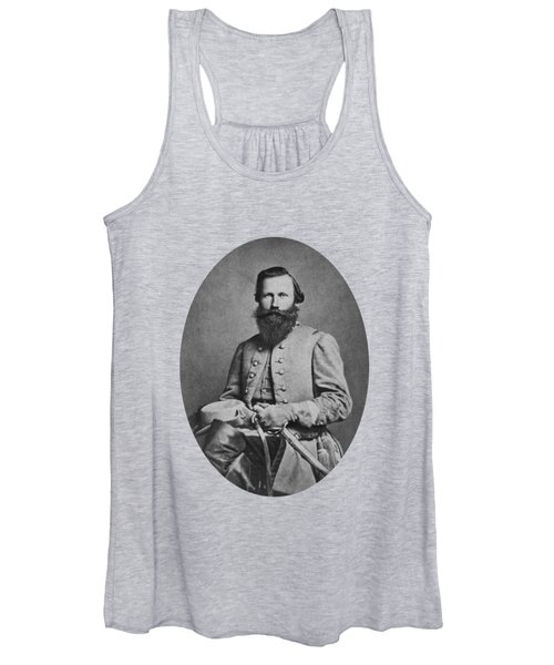 General J.e.b. Stuart - Confederate Army General Women's Tank Top