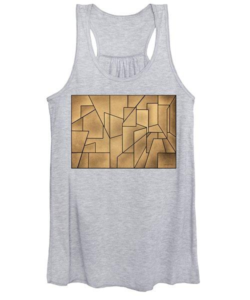 Geometric Abstraction IIi Toned Women's Tank Top