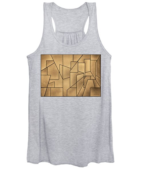 Geometric Abstraction IIi Toned Women's Tank Top