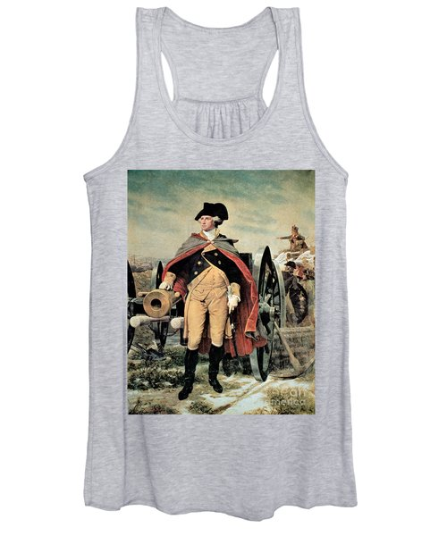 George Washington At Dorchester Heights Women's Tank Top