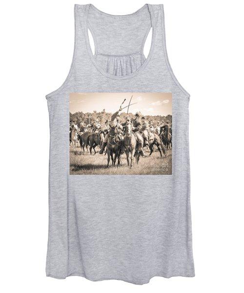 Gettysburg Cavalry Battle 7992s  Women's Tank Top