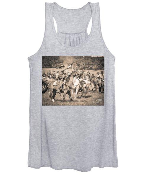 Gettysburg  Union Cavalry 7920s  Women's Tank Top