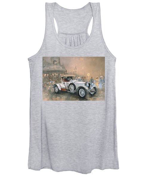 Ghost In Scarborough  Women's Tank Top