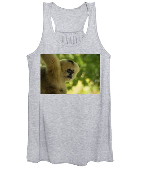 Gibbon Portrait Women's Tank Top