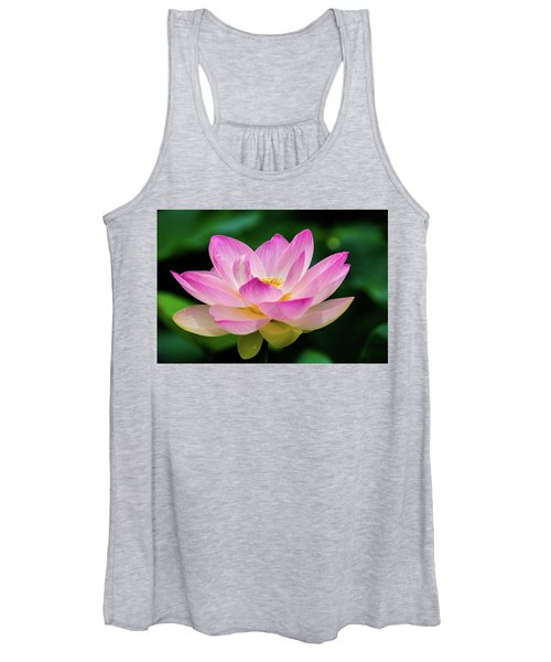 Gigantic Lotus Red Lily Women's Tank Top
