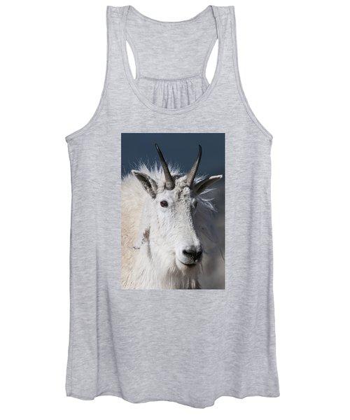 Goat Portrait Women's Tank Top