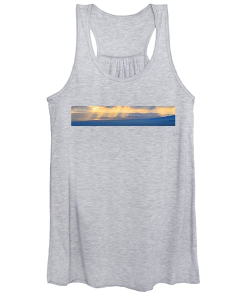 God's Rays Over The Great Basin  Women's Tank Top