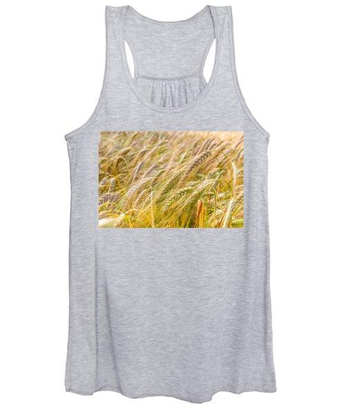 Golden Barley. Women's Tank Top