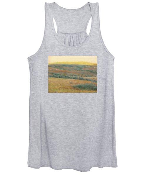 Golden Dakota Horizon Dream Women's Tank Top